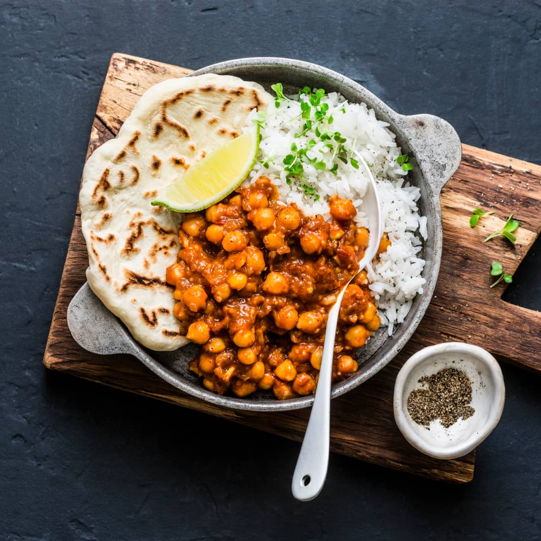 Madras Chickpea Curry Recipe