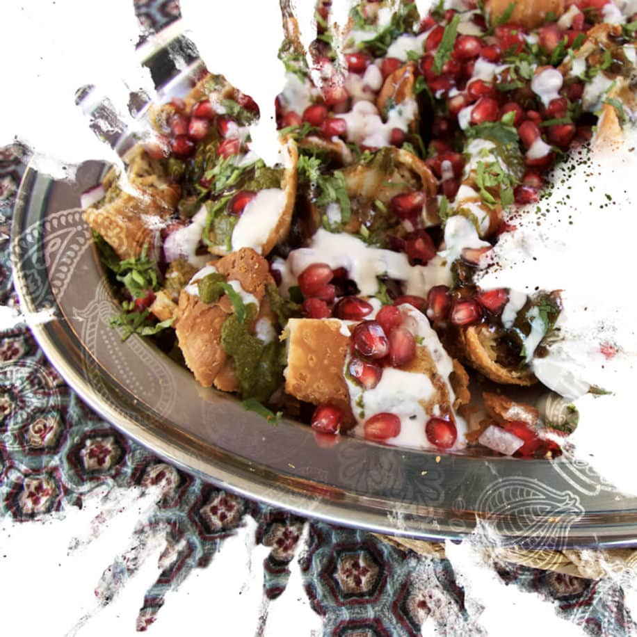 Punjabi Samosa Chaat Recipe