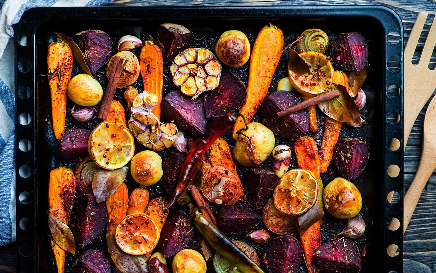 Tandoori Roasted Vegetables Recipe