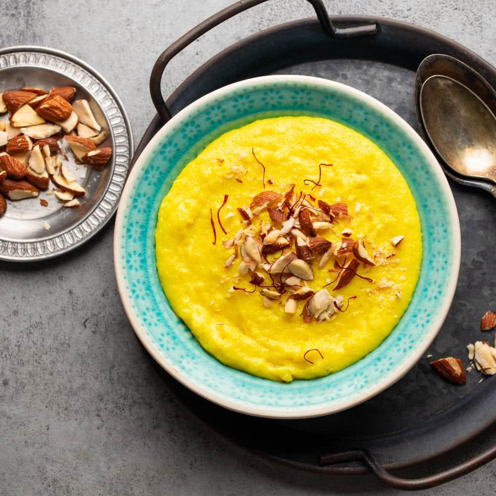 Saffron Semolina Pudding (Semiya Kheer) Recipe