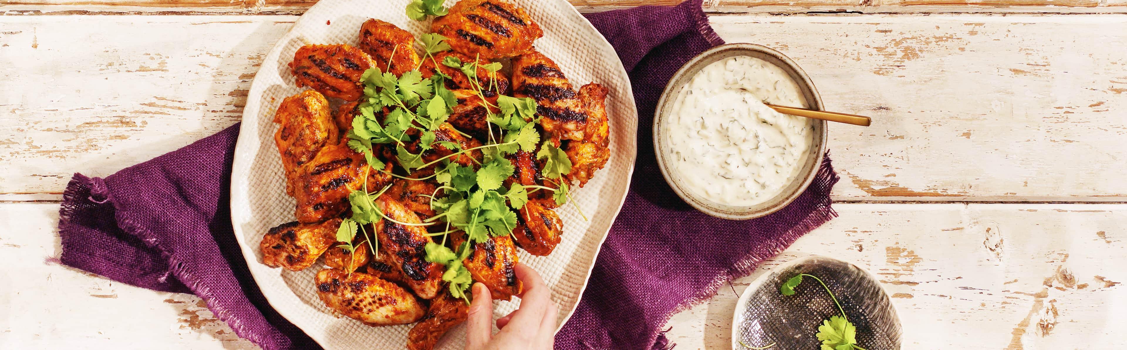 Tandoori Chicken Wings Recipe