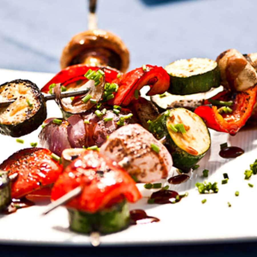 Tandoori Vegetable Skewers Recipe