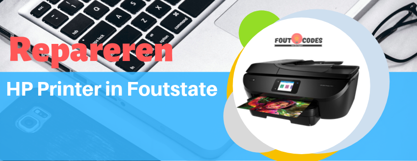 Repareren HP Printer in foutstate