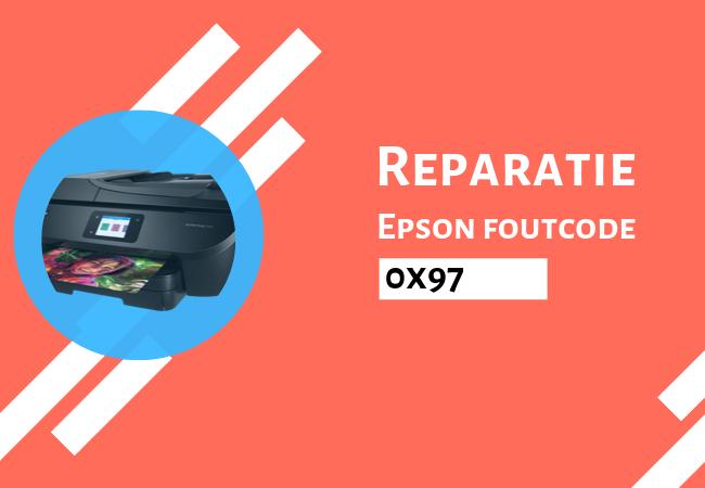 Epson foutcode 0x97