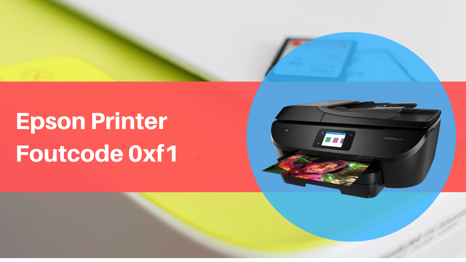 Epson Printer Foutcode 0xf1