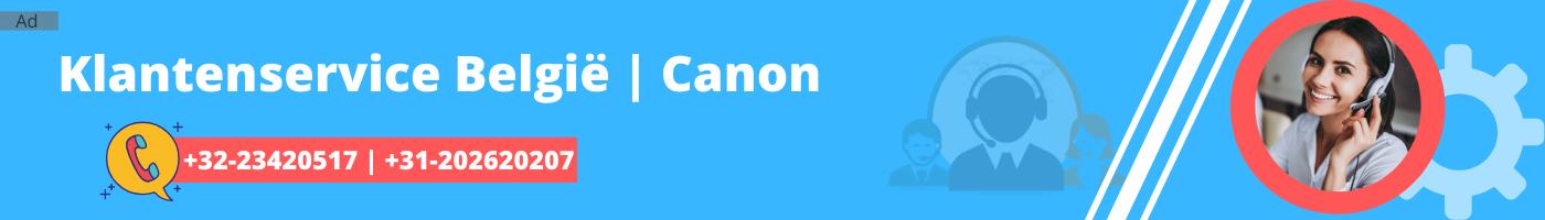 Canon Klantenservice
