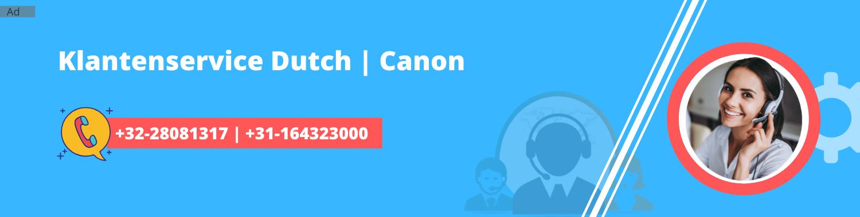 Canon Printer Klantenservice