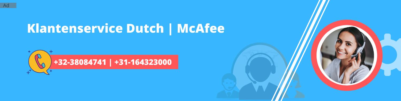 McAfee Telefoonnummer