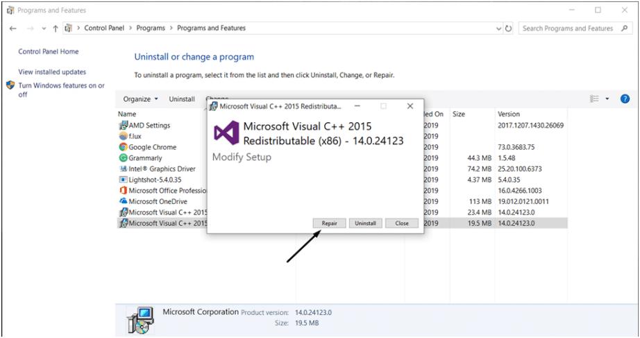 Microsoft-Visual-C-2015