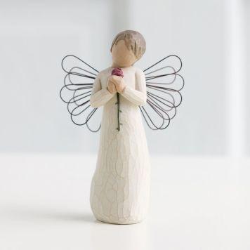 ウィローツリー天使像 【Loving Angel】 - 愛する天使