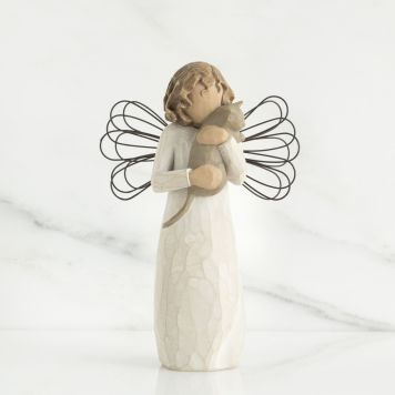 ウィローツリー天使像 【With Affection】 - 愛をこめて