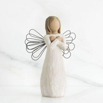ウィローツリー天使像 【Sign for Love】 - 愛のしるし