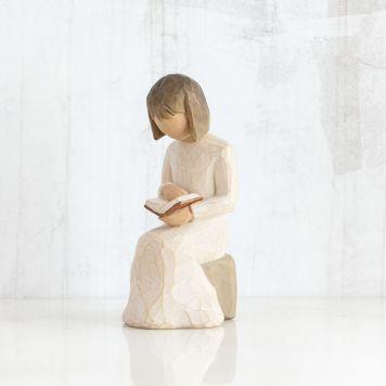ウィローツリー彫像 【Wisdom】 - 聡明