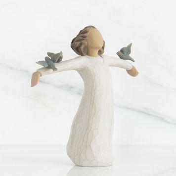 ウィローツリー彫像 【Happiness】 - 幸せ