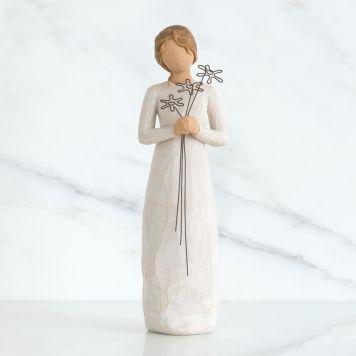 ウィローツリー彫像 【Grateful】 - 感謝