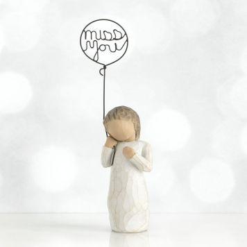 ウィローツリー彫像 【Miss You】 - 会いたいな