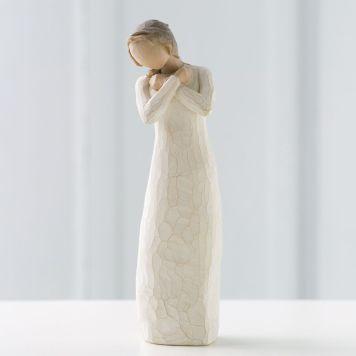 ウィローツリー彫像 【Healing Grace】 - 癒しの恩寵