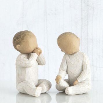 ウィローツリー彫像 【Two Together】 - ふたりいっしょ