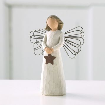 ウィローツリー天使像 【Angel of Light】 - 灯