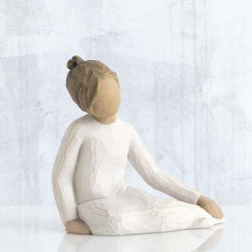 ウィローツリー彫像 【Thoughtful Child】 - 思慮深い子