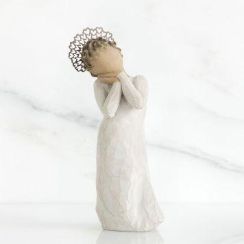 ウィローツリー彫像 【Angel Love】 - 天使の愛