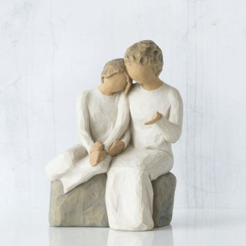 ウィローツリー彫像 【With my Grandmother】 - おばあちゃんと