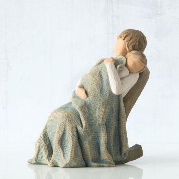 ウィローツリー彫像 【The Quilt】 - キルト; おやすみ