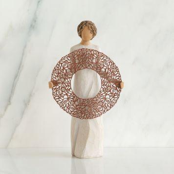 ウィローツリー彫像 【Welcome Here】 - いらっしゃい