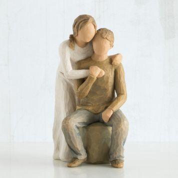 ウィローツリー彫像 【You and Me】 - 貴方とわたし