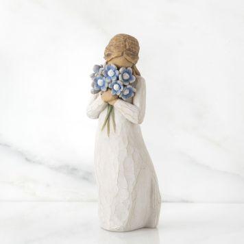 ウィローツリー彫像 【Forget me not】 - わたしのこと忘れないで