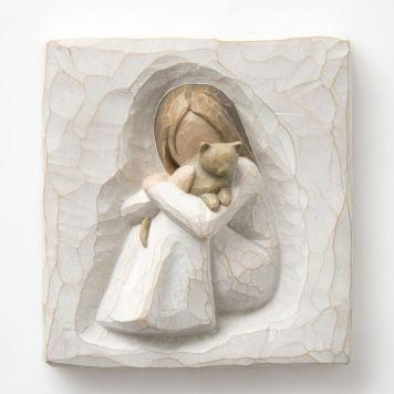 ウィローツリー飾り盾 【Comfort Plaque】 - 安らぎ