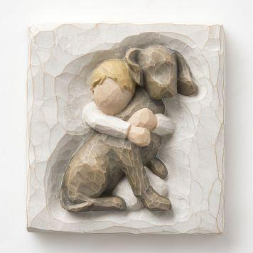 ウィローツリー飾り盾 【Hug Plaque】 - ハグ