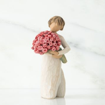 ウィローツリー彫像 【Abundance】 - あふれる気持ち