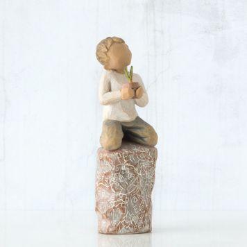 ウィローツリー彫像 【Something Special】 - 特別なこと