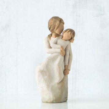ウィローツリー彫像 【MotherDaughter】 - 母娘