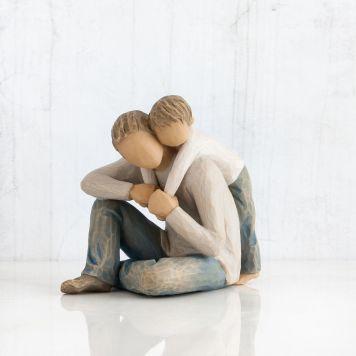 ウィローツリー彫像 【That's my Dad】 - 僕のお父さん