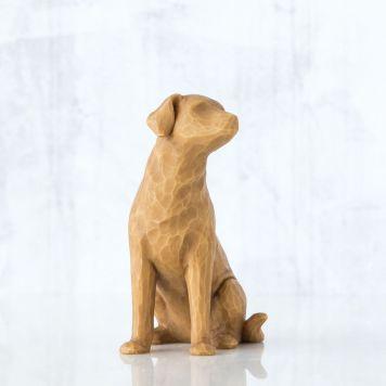ウィローツリー彫像 【Love my Dog(light)】 - 私の愛犬