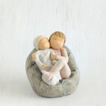 ウィローツリー彫像 【My new baby(blush)】 - 私の赤ちゃん (頬紅)