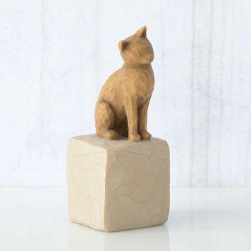 ウィローツリー 彫像 【Love my Cat (light)】 - 私の愛猫