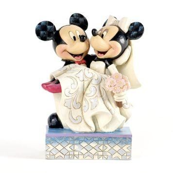 ミッキーとミニー 結婚式 ウェディング