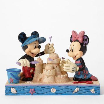 ミッキーとミニー 海辺 シーサイド