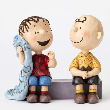賢者のアドバイス チャーリーブラウン&ライナス