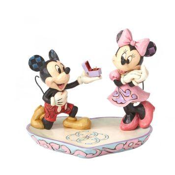 ミッキーとミニー プロポーズ エンゲージメントリング