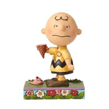 チャーリーブラウンとアイスクリーム