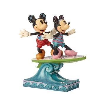 ミニーとミッキー サーフボード