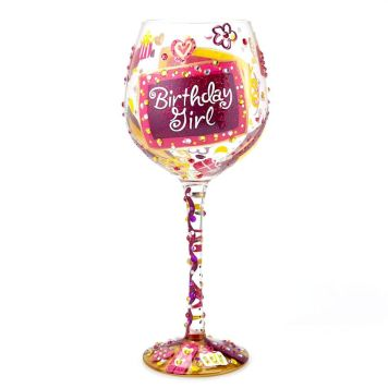 Lolita ワイングラス BLING BIRTHDAY GIRL