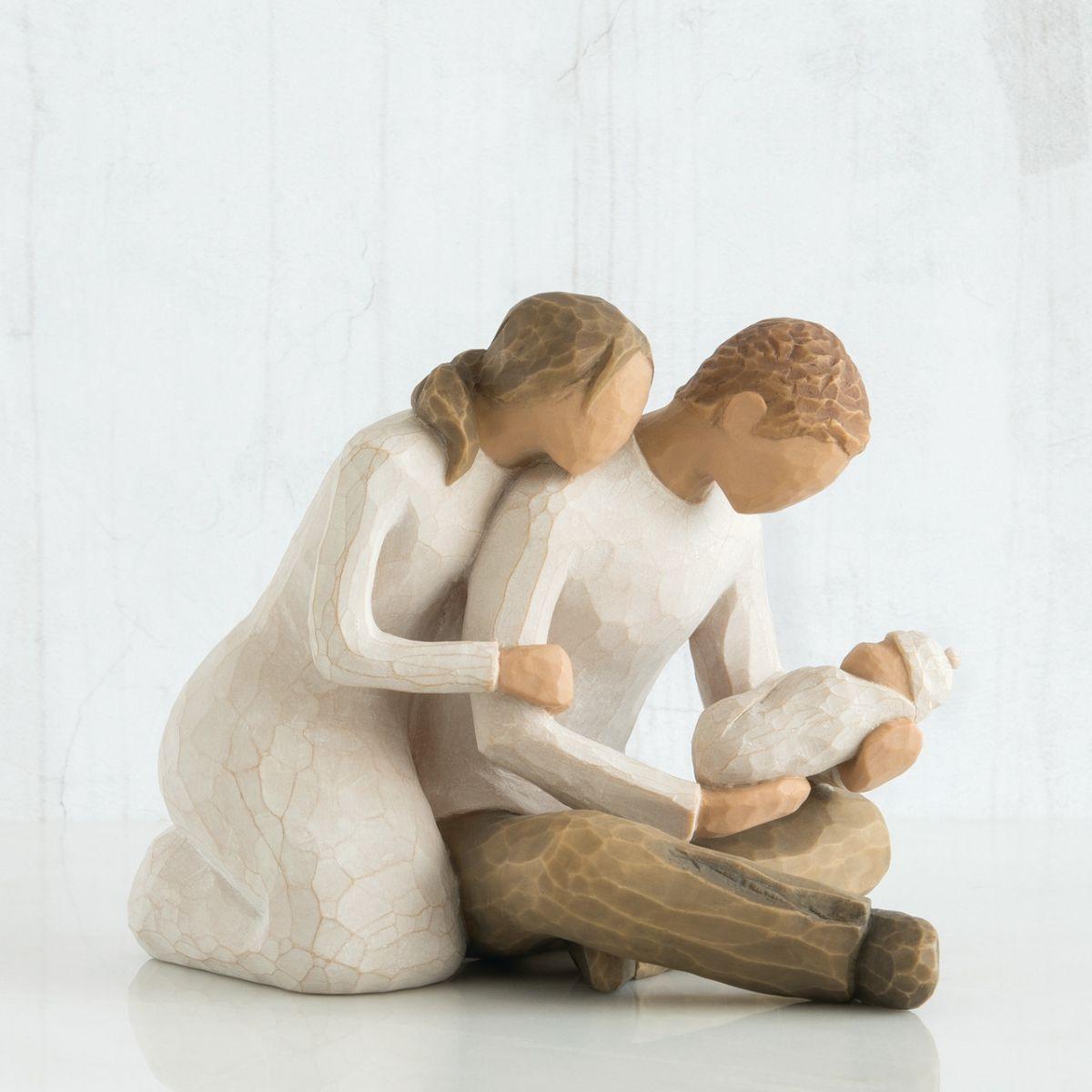 ウィローツリー彫像 【New Life】 - 新しい生命