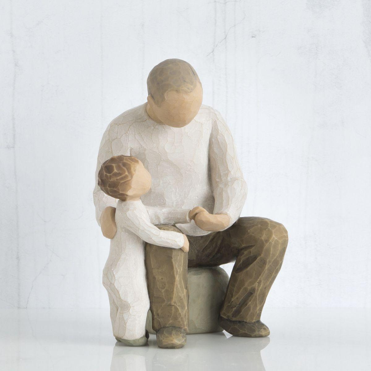 ウィローツリー彫像 【Grandfather】 - 祖父