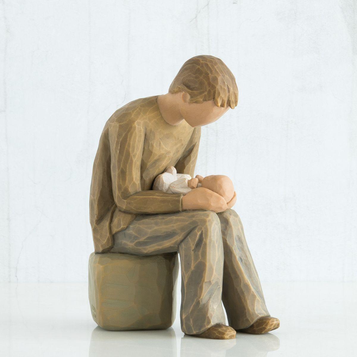 ウィローツリー彫像 【New Dad】 - お父さんだよ