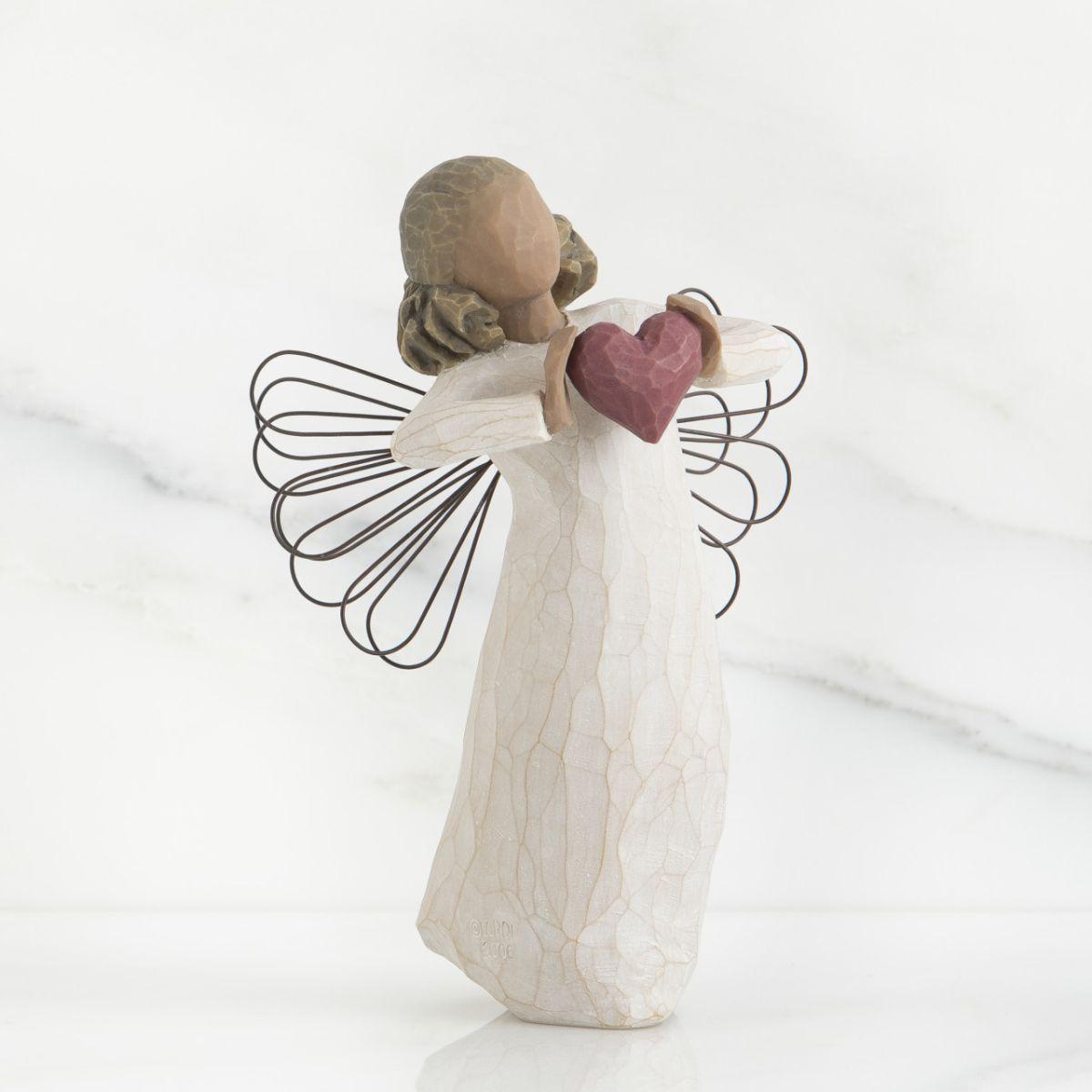 ウィローツリー天使像 【With Love】 - 愛をこめて